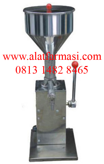 Jual Manual Oinment and Liquid Filling Machine-Mesin Pengisi
